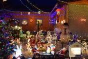Božične lučke pri Tibautovih na Hotizi